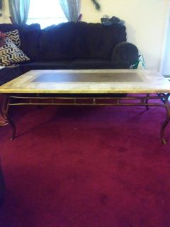 Coffee table w end table