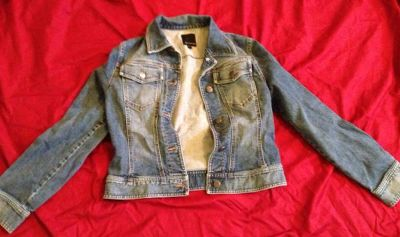 The Limited jean jacket Size M