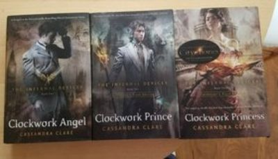 The Infernal Device Book 1-3 Cassandra Clare