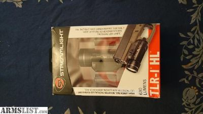 For Sale: Streamlight TLR-1 HL Weapon Light