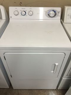 GE Electric Dryer in White