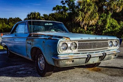 1965 Nissan Maxima 3.5 S (Blue (Light))
