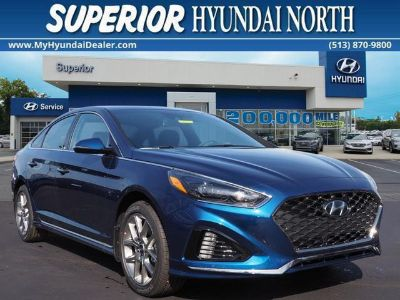 2018 Hyundai Sonata Limited 2.0T (Lakeside Blue)
