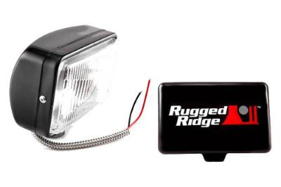 Sell Rugged Ridge 15207.05 - Halogen Fog Light motorcycle in Suwanee, Georgia, US, for US $48.18