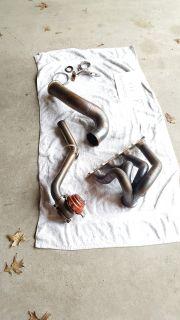 Evo X GTX3076 turbo, Sheerer Exhaust manifold, AGP intercooler, intake