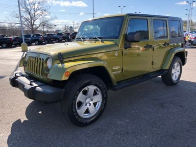 2007 Jeep Wrangler Unlimited Sahara (Green)