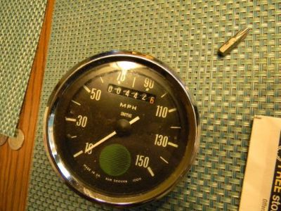 Purchase Smiths Magnetic Speedometer Norton Commando 750 850 WORKS 442 miles AHRMA motorcycle in Perrysburg, Ohio, United States, for US $239.00
