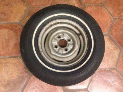 Purchase Original 1962 Chevy II Nova Chevrolet Spare Tire w/ Wheel 62 motorcycle in Hutchinson, Kansas, United States, for US $150.00