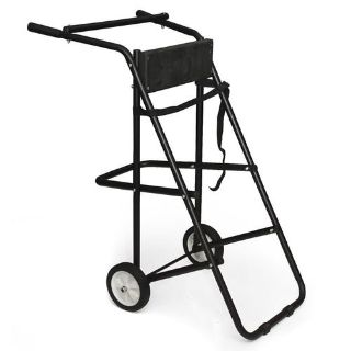 Buy 130 lb Outboard Boat Trolling Motor Stand Carrier Cart Dolly Storage Heavy Duty motorcycle in Rancho Cucamonga, California, US, for US $46.95