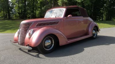 1937 ford cabriolet, all steel, 351, auto, PS, PB