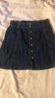 Gap cute jean skirts
