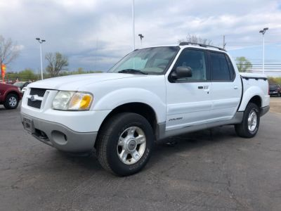 2002 Ford Explorer Sport Trac Value (White)
