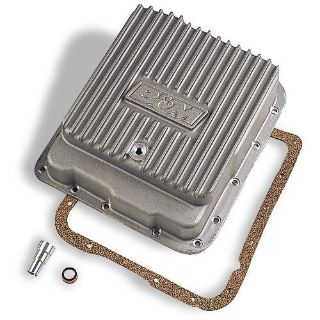 Purchase B&M 70260 Deep Aluminum Transmission Pan GM 700R4 4L60 4L60E Extra 3 Quarts motorcycle in Suitland, Maryland, US, for US $201.83