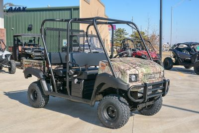 2018 Kawasaki Mule 4010 Trans4x4 Camo Side x Side Utility Vehicles Oklahoma City, OK