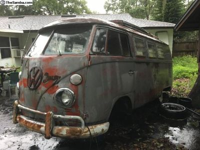 1966 VW Westfalia Split Window