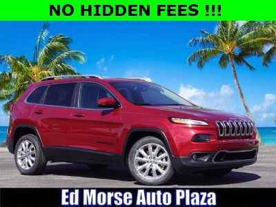 2016 Jeep Cherokee Limited (Deep Cherry Red Crystal)