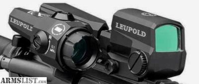 For Sale: Leupold D-evo and lco optic