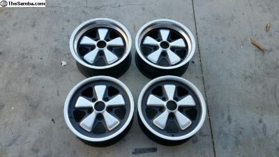 Porsche 911RS factory fuchs 15x6 15x7 wheels