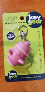 BN Pig Keychain Makes Noise