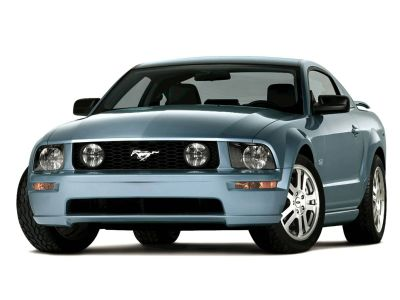 2005 Ford Mustang GT Deluxe (Red)