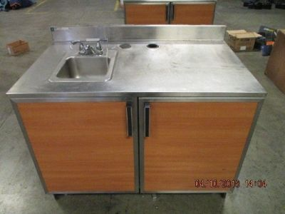 Duke Stainless Steel Top Cabinet Worktable RTR# 8033602-09