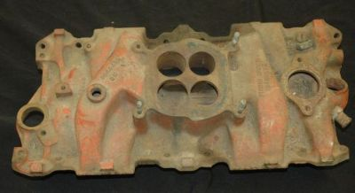 Buy 1964 3844459 F304 DATED CARTER AFB INTAKE MANIFOLD 327-300HP CORVETTE & CHEVY motorcycle in Justice, Illinois, United States, for US $199.95