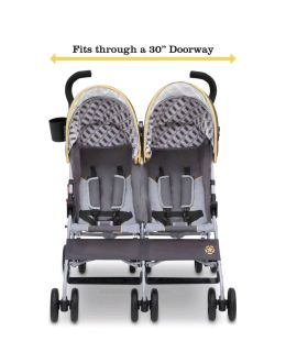 Jeep portable double stroller