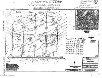 LOT 8 Jubilee Rd-Turnersville Covington Township