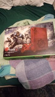 Brand new Xbox one s 2Tb Gears of war Limited Edition system