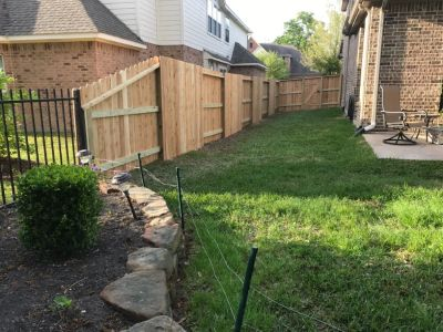 Affordable Wood Fence