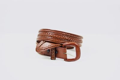 5 Leather belts sizes 36-38