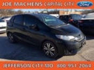 2015 Fit Honda EX 4dr Hatchback 6M Black 1.50L