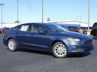 2019 Ford Fusion SE (Blue)