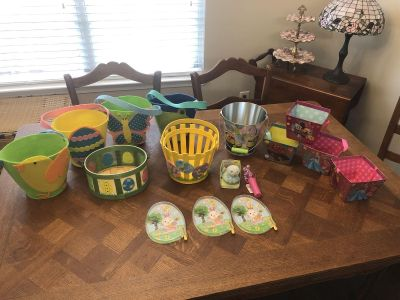 Easter Brand New Baskets and Items - Lot