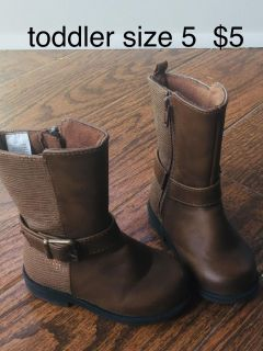 toddler size 5 shoes - prices as marked on pictures