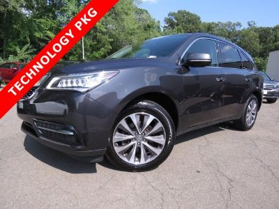 2016 Acura MDX Base w/Tech (Graphite Luster Metallic)