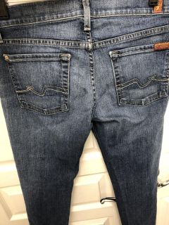 7 for all mankind jeans - size 27