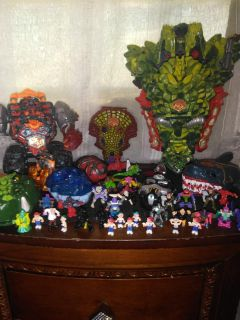 Vintage Mighty Max toys