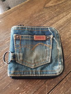 New! AE Really Cute Real Jean Wallet