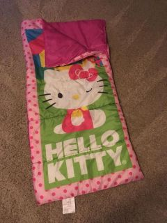 Hello Kitty sleeping bag. Great condition
