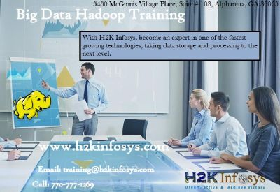 Big Data Hadoop Online Training Classes And Job Assistance By H2kinfosys