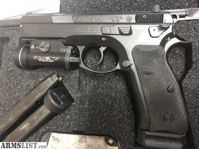 For Sale/Trade: CZ 75 SP01 Tactical