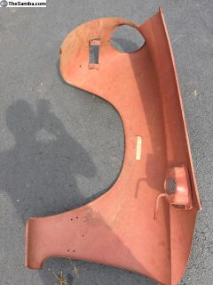 NOS right front fender Ghia