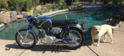 1966 Honda SUPERHAWK