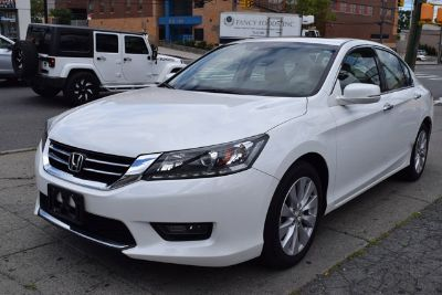 2015 Honda Accord EX-L V6 (White)