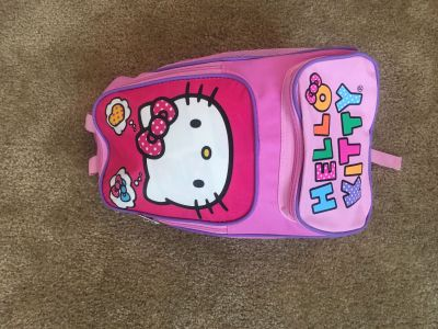 Hello Kitty Sleeping Bag w/ backpack