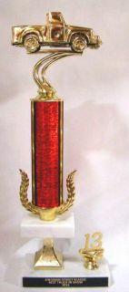 Find 4 x 4 Truck Show Trophies - Free Engraving - 15 inch tall trophy motorcycle in Fullerton, California, US, for US $12.99