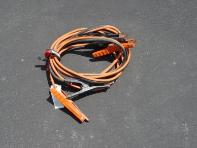 15 FOOT PAIR OF JUMPER CABLES