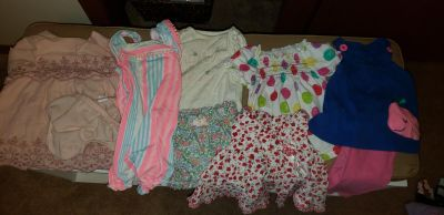 3 to 6 month baby girl clothes
